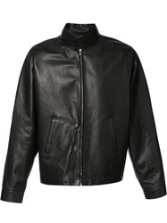Maison Martin Margiela Classic Leather Jacket Black