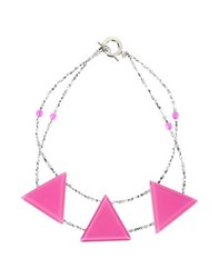 Armani Collezioni Jewellery Necklaces Women Fuchsia