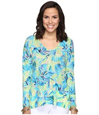 Lilly Pulitzer Liesel Sweater Multi Serenity Now Women's Sweater