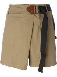Silent Damir Doma 'Phad' Shorts Brown