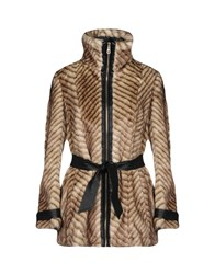 Guess Coats And Jackets Faux Furs