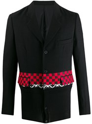 Haider Ackermann Checked Stripe Blazer 60