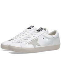 Golden Goose Superstar Clean Leather Sneaker White