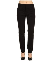 Michael Michael Kors Ponte Straight Ankle Pant Black Women's Casual Pants