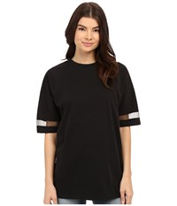 Bench I See Clearer Now Tee Jet Black Women's Short Sleeve Pullover