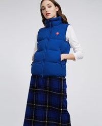 Aspesi Sleeveless Down Jacket Ginger Cornflower Blue