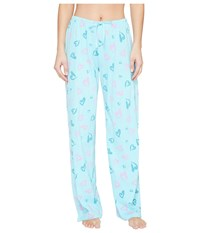 Life Is Good Heart Jersey Sleep Pant Fresh Blue Women's Pajama