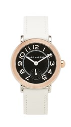 Marc Jacobs Riley Extensions Watch Rose Gold Silver Black White