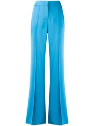 Dorothee Schumacher Flared Suit Trousers Blue