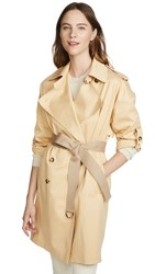 Club Monaco Adj Sleeve Trench Jacket Chamomile