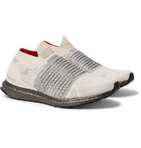 Adidas Originals Ultraboost Primeknit Slip On Sneakers Cream
