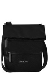 Sherpani Small Pica Crossbody Bag Black Raven