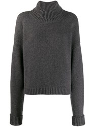 Maison Martin Margiela Roll Neck Sweater Grey