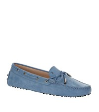 Tod's Laced Gommino Nubuck Driving Shoe Female