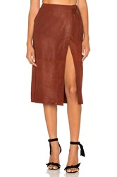 Lamarque Contessa Skirt Rust