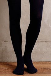 Pure Good Opaque Tights Navy