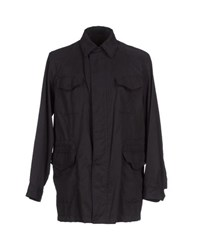 Henry Cotton's Coats And Jackets Jackets Men Dark Blue