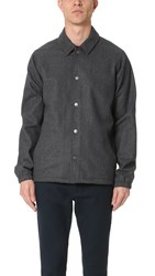 Rvca Wrenchman Coach Jacket Grey Noise