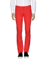 Frankie Morello Casual Pants Red