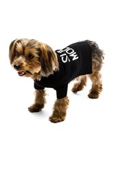 360 Sweater Skull Dog Super Model Sweater Black
