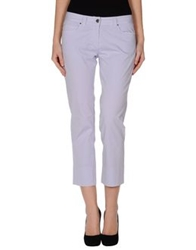 Antonio Fusco Casual Pants Lilac