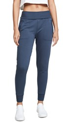 Beyond Yoga Foldover Sweatpants Nocturnal Navy