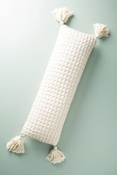 Anthropologie Waffleknit Pillow Peach