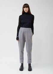 Nehera Provin Washed Denim Wool Trousers Grey