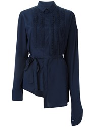 A.F.Vandevorst '162 Cocktail' Blouse Blue