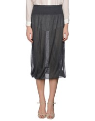 Es'givien Skirts Long Skirts Women Lead