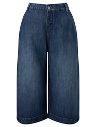 Maison Scotch Denim Culottes Indigo