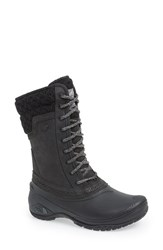 The North Face Women's 'Shellista' Waterproof Mid Boot Black Kitten Grey