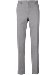 Cerruti 1881 Slim Fit Tailored Trousers Grey