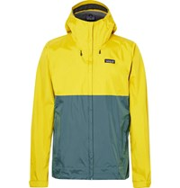 Patagonia Torrentshell Waterproof H2no Performance Standard Ripstop Hooded Jacket Marigold