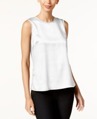 Kasper Sleeveless Shell Ivory