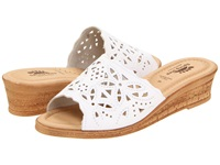 Spring Step Estella White Women's Wedge Shoes