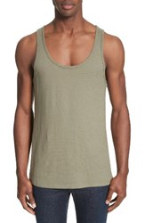 Saturdays Surf Nyc Men's Rib Knit Tank Sage