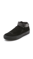 Won Hundred Wilde Suede Sneakers Black