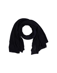 Diesel Oblong Scarves Dark Blue