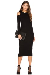 Gettingbacktosquareone The Cold Shoulder Dress Black