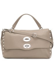 Zanellato 'Foderata' Shoulder Bag Grey