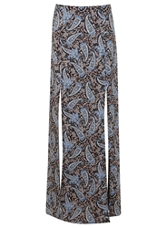 Miss Selfridge Paisey Maxi Skirt Multi Coloured