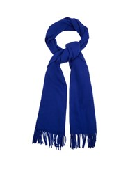 Acne Studios Canada Narrow Wool Scarf Blue