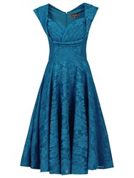 Jolie Moi Crossover Bust Ruched Prom Dress Dark Teal