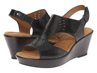 Softspots Rainer Black Montana Women's Wedge Shoes