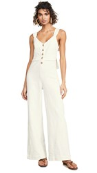 Knot Sisters Rae Jumpsuit Natural
