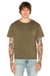 R 13 Surplus Destroyed Tee Olive