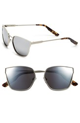 Women's Jason Wu 'Torri' 55Mm Metal Sunglasses Matte Silver