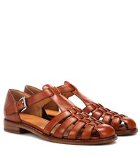 b82b108d4730 Church s Kelsey Leather Sandals Brown