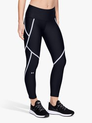 Under Armour Edgelit Ankle Cropped Tights Black Silver